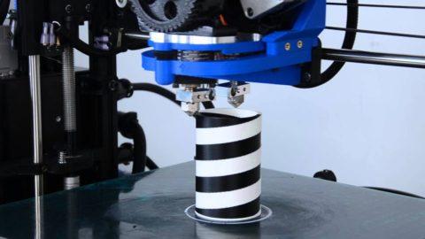 best dual extruder 3d printer