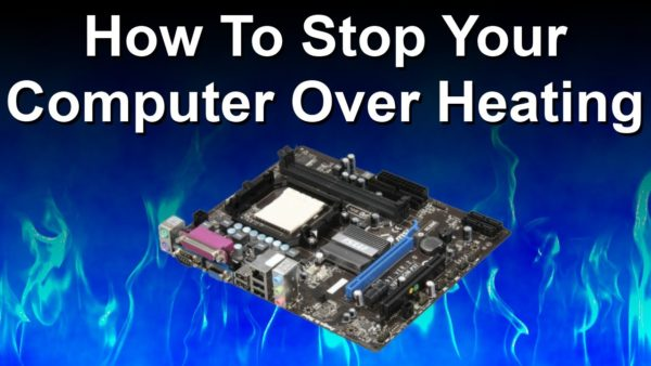 stop pc from overheating