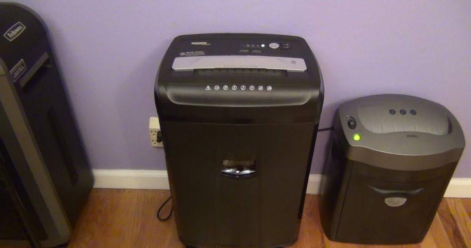 best quiet paper shredder