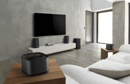 living room speaker setup